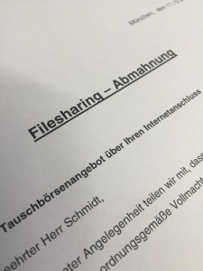 Waldorf Frommer Abmahnung Waldorf Filesharing Abmahnung